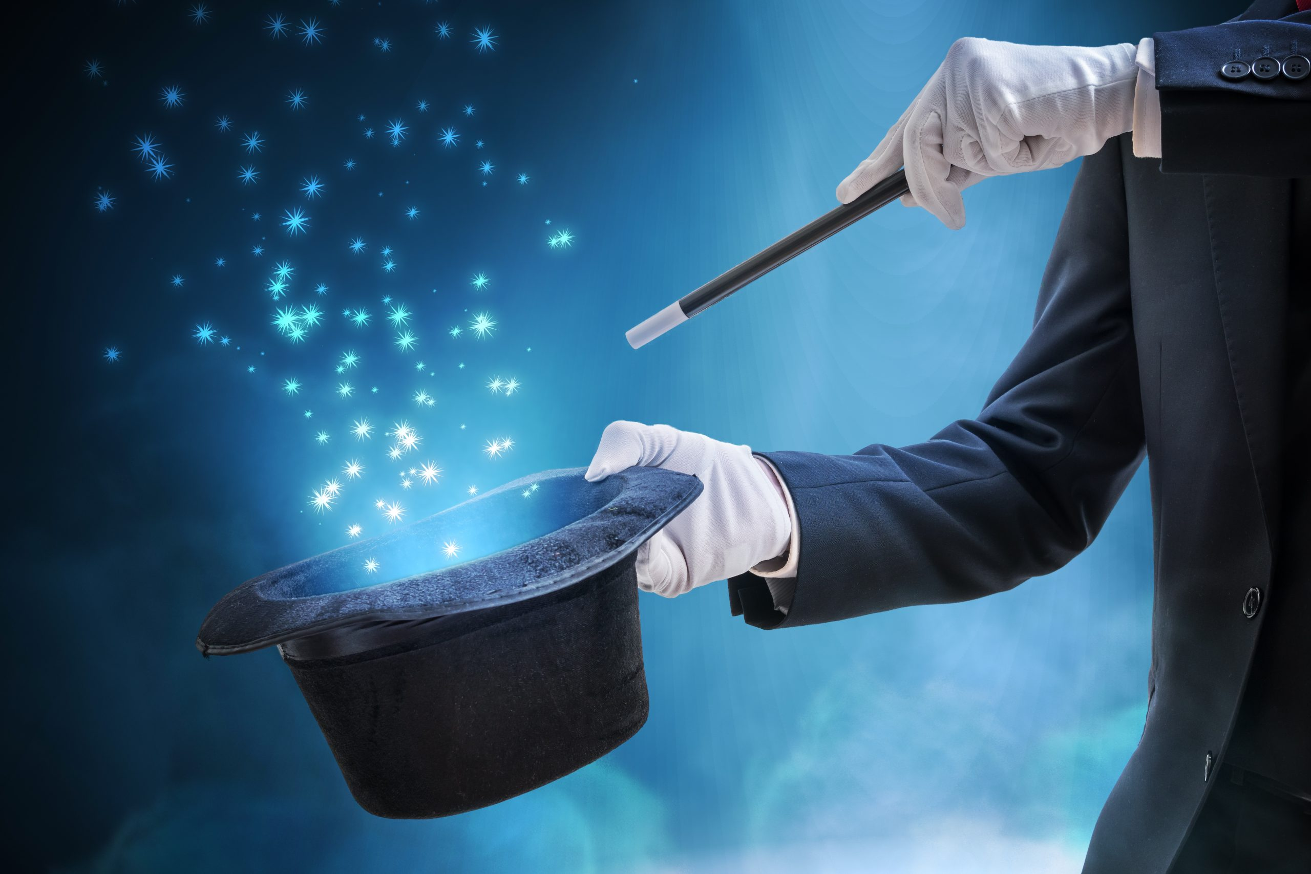 Even a Magician Can't Wear Gloves and Make COVID-19 Disappear